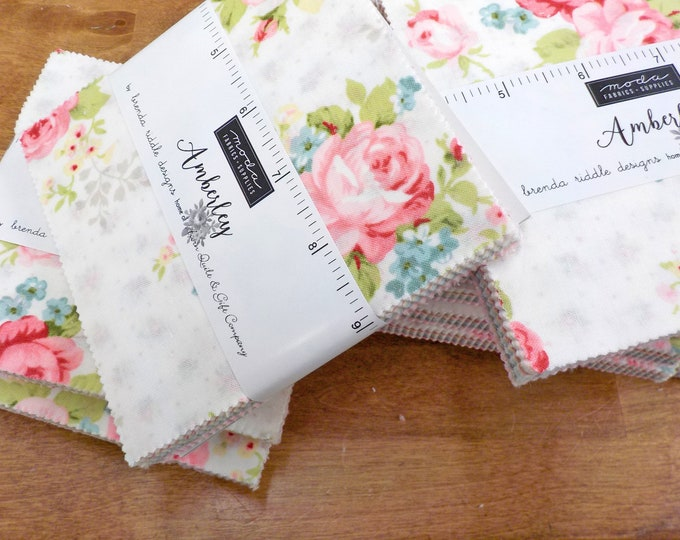 Amberley charm pack by Brenda Riddle Designs for Moda Fabrics