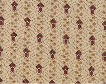 Timeless Cream Rust 38027 21 by Jo Morton for Moda Fabrics