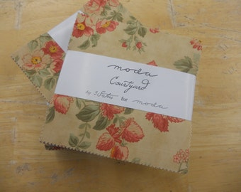 Last one! Courtyard charm pack by 3 Sisters Designs for moda fabrics