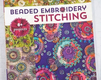 Beaded Embroidery Stitching by Christen Brown