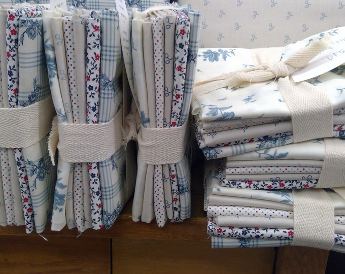 Northport, exclusive fat quarter bundle of 6 prints, by Minick and Simpson for Moda Fabrics