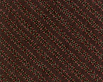 Harvest Hill Brown 9553 18 by Kansas Troubles for moda fabrics