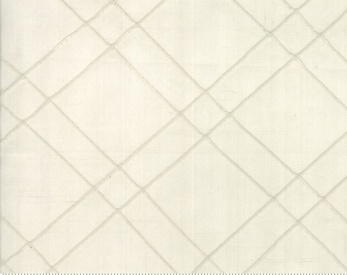 Poetry Collection Woven Tucked Porcelain 12023 26 by 3 Sisters for moda fabrics