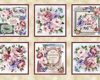 Fragrant Roses by MMF Collection Pink Roses de provence DCX9450-PINK