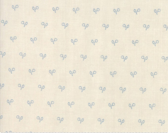 Northport Cream Blue 14887 12 by Minick and Simpson for Moda Fabrics