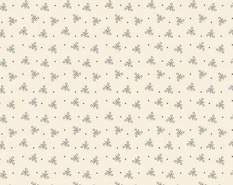 Delightful Dozen Cream Four by Sheryl Johnson R3104-CREAM for Marcus Fabrics