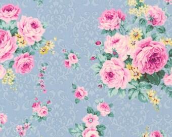 Antique Ruru Marie Floral QGRU238011C by Quilt Gate for Robert Kaufman