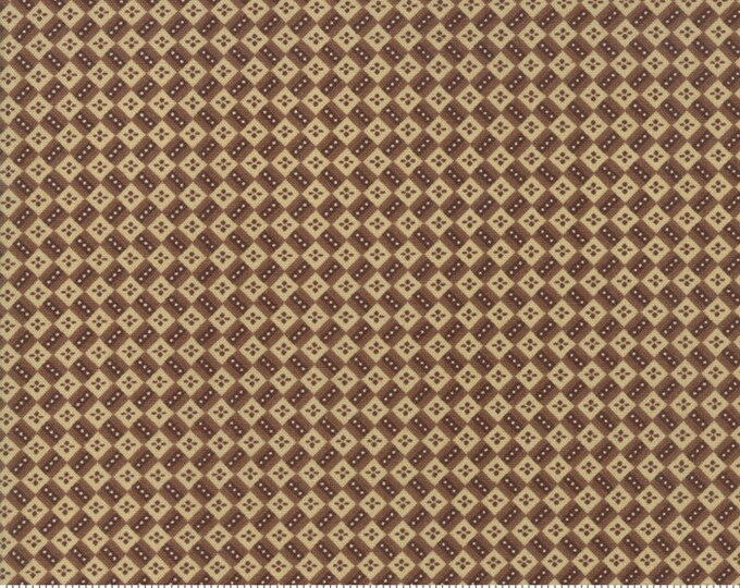 Susannas Scraps 1830-1875 Chocolate 31584 20 by Betsy Chutchian for Moda Fabrics