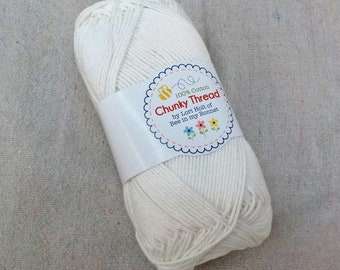 Chunky Thread by Lori Holt of Bee in my Bonnet...cloud, 50 grams, 140 yards, 128 meters