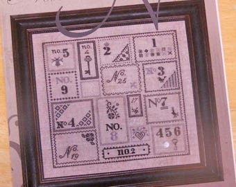 Numero by Jeannette Douglas Designs...cross-stitch design