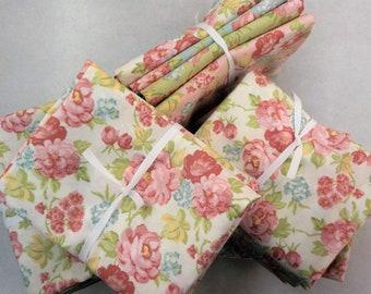 Bramble Blooms...designed by Brenda Riddle...4--large floral 1/2 yards