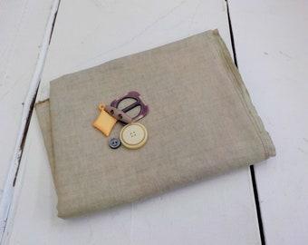 Weeks Dye Works, Confederate Gray, 46ct, Fat Quarter, 100% linen, cross stitch linen, Zweigart base