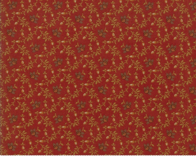 Spice It Up Redder Rust 38055 16 by Jo Morton for Moda Fabrics