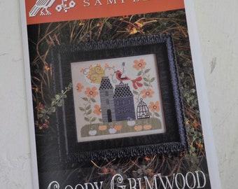 Goody Grimwood by Plum Street Samplers...cross stitch pattern, cross stitch