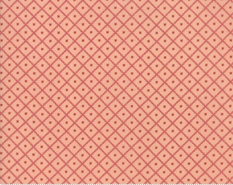 Harriet's Handwork 1820-1840 Sweet Pink 31575 16 by Betsy Chutchian for Moda Fabrics
