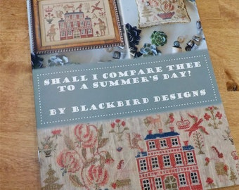 Shall I Compare Thee to a Summer's Day? by Blackbird Designs, cross stitch book