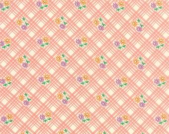 Chloe's Closet for moda fabrics, 30's Playtime 2015, Bettys Pink 33043 20