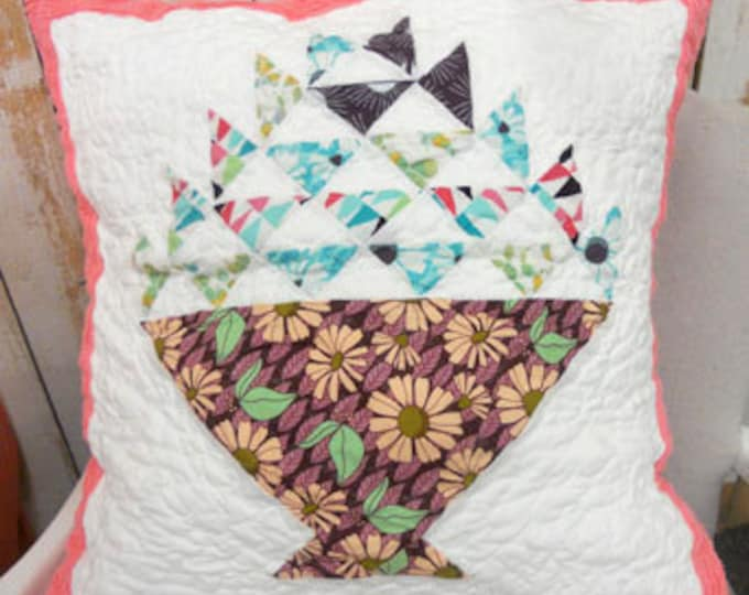 PDF Succulent Punch pattern...designed by Mickey Zimmer for Sweetwater Cotton Shoppe
