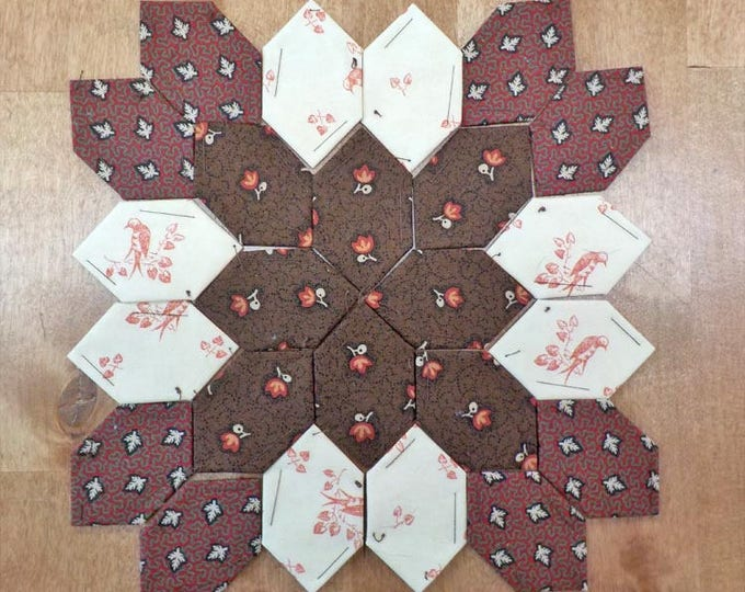 Lucy Boston Patchwork of the Crosses civil war block kit #33