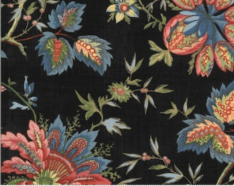 Elinores Endeavor Ink 31619 17 fabric designed by Betsy Chutchian for Moda Fabrics