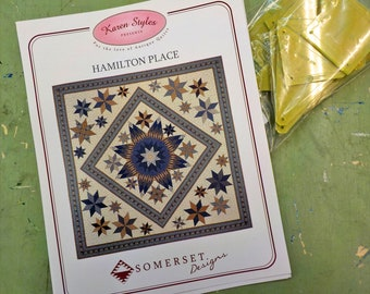 Hamilton Place by Karen Styles of Somerset Designs...pattern and acrylic templates