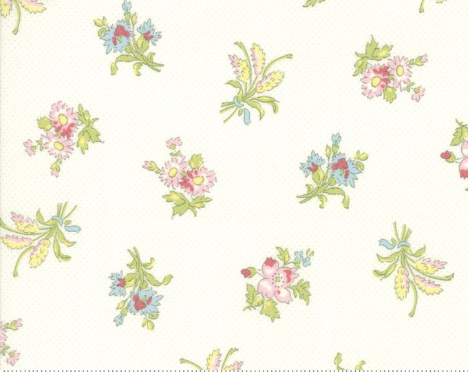 Bramble Cottage 18691-11 Linen by Brenda Riddle Designs for Moda Fabrics