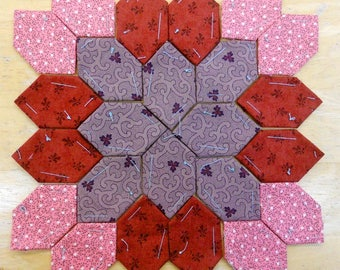 Lucy Boston Patchwork of the Crosses civil war block kit #19