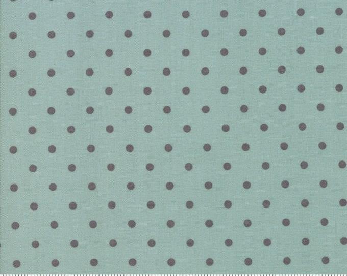 101 Maple Street Seafoam Grey 2936 11 designed by Bunny Hill Designs for Moda Fabrics