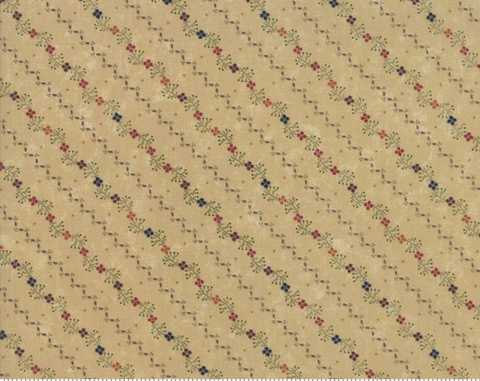 Nature's Glory Tan 9583 11 by Kansas Troubles for moda fabrics