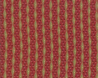 Glad Tidings turkey red 38092-11 by Jo Morton for Moda Fabrics