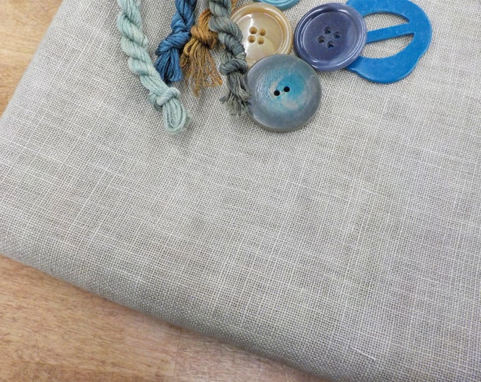 Weeks Dye Works, Confederate Gray, 32ct, Fat Quarter, 100% linen, cross stitch linen