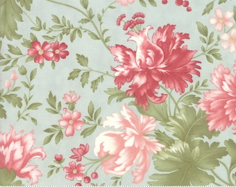 Rue 1800 44220-13 Robin's Egg floral by 3 Sisters for Moda Fabrics