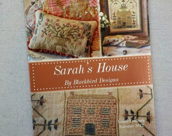Sarah's House...Loose Feathers 2012, pattern 2 by Blackbird Designs...cross-stitch design