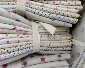 Independence low volume bundle...10--fat quarters...exclusive grouping