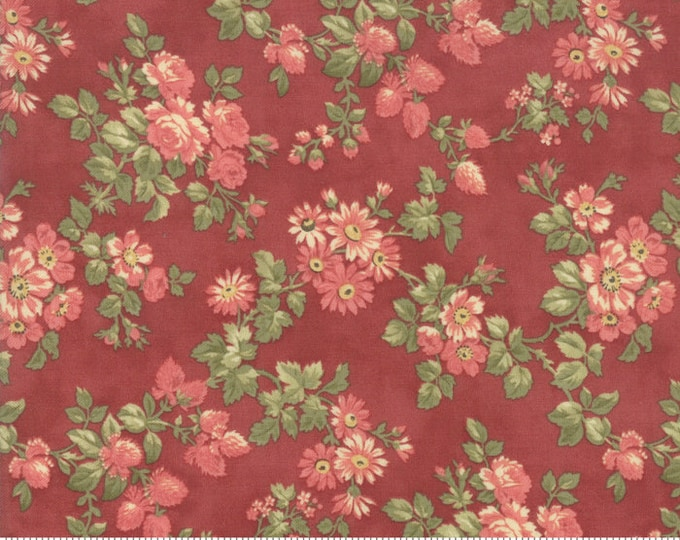 Memoirs Rust 44214 15 by 3 Sisters for Moda Fabrics