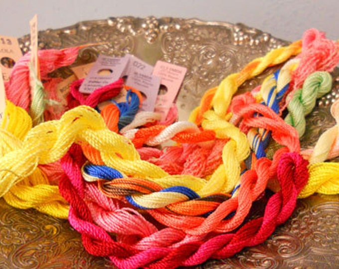 Tutti Fruiti Thread Pack of 10 skeins of Edmar Thread.