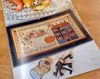 Feast of Friendship by Blackbird Designs...cross-stitch design