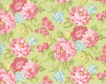 Bramble Cottage 18690-14 Willow by Brenda Riddle Designs for Moda Fabrics