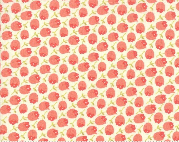 Scarlet and Sage Ivory 20364 15 by Joanna Figueroa of Fig Tree Quilts for moda fabrics