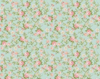 Rose & Violet's Garden Sweet Blossoms Songbird C10413 designed by Miss Rose Sister Violet for Riley Blake Designs