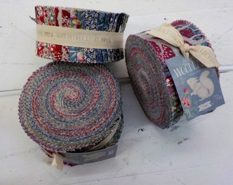 Woodland strip roll...a Tilda Collection designed by Tone Finnanger...40--2 1/2 inch strips