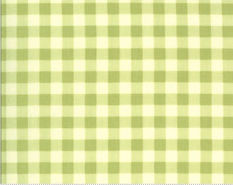 Sophie Gingham Sprout 18714 17 by Brenda Riddle for Moda Fabrics