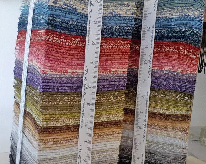 Puzzle Pieces by Moda Fabrics...fat quarter bundle...60 prints