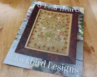 My Dear Hearts by Blackbird Designs...cross-stitch design