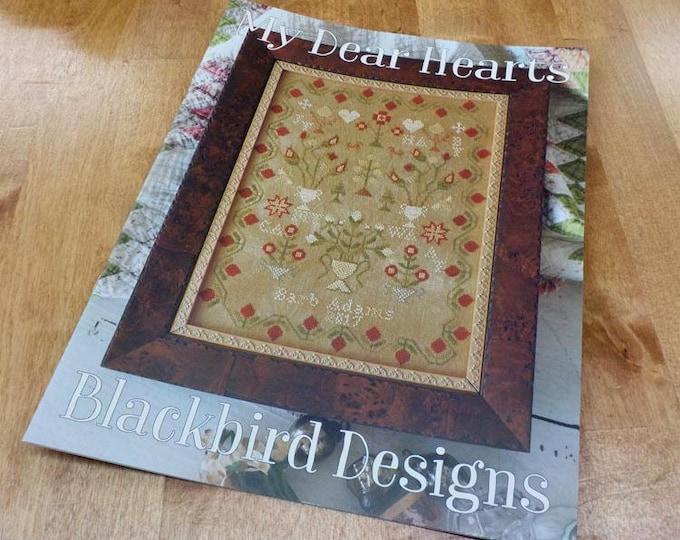 Featured listing image: My Dear Hearts by Blackbird Designs...cross-stitch design