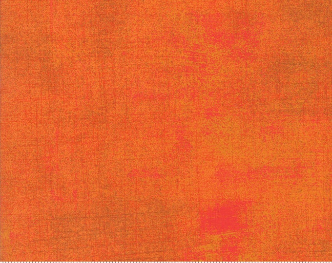 Grunge Basics Russet Orange 30150 322 for Moda Fabrics
