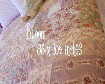 PDF BLoom pattern designed by Mickey Zimmer for Sweetwater Cotton Shoppe