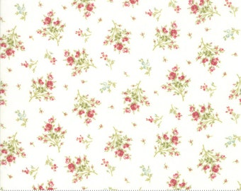 Rue 1800 44227-11 Porcelain floral by 3 Sisters for Moda Fabrics
