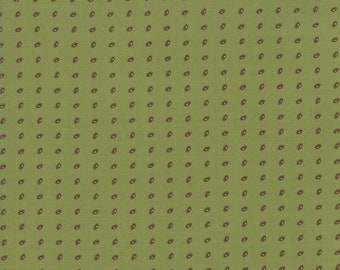Glad Tidings Poison Green 38095 22 by Jo Morton for Moda Fabrics