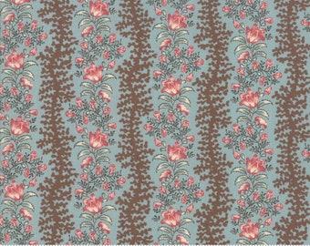 Sarah's Story 1830-1850, Sky 31592 16 fabric designed by Betsy Chutchian for Moda Fabrics